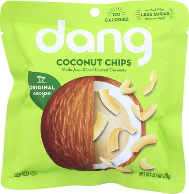 DANG: Original Recipe Coconut Chips, 0.7 oz - Vending Business Solutions