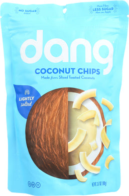 DANG: Toasted Coconut Chips Lightly Salted, 3.17 Oz - Vending Business Solutions