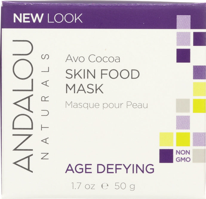 ANDALOU NATURALS: Cocoa Skin Food Mask, 1.7 oz - Vending Business Solutions