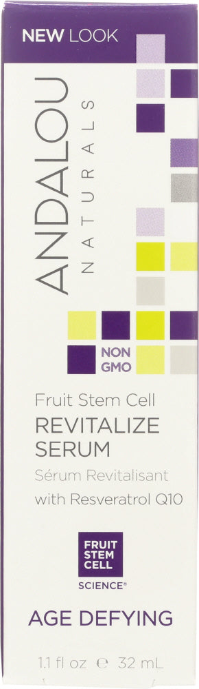 ANDALOU NATURALS: Fruit Stem Cell Revitalize Serum , 1.1 Oz - Vending Business Solutions