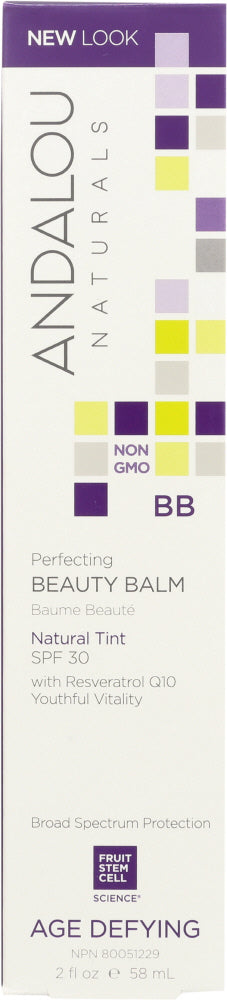 ANDALOU NATURALS: BB Skin Perfecting Beauty Balm SPF 30 Natural, 2 oz - Vending Business Solutions
