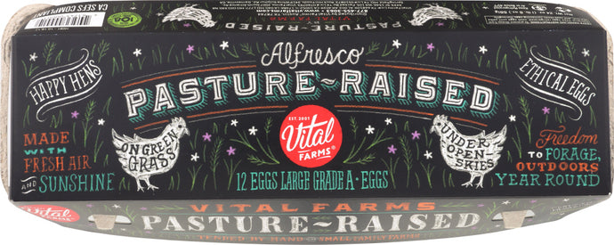 ALFRESCO EGGS: Pasture Raised Eggs, 12 ct - Vending Business Solutions