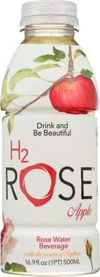 H2ROSE: Apple Rose Water, 16.9 fo - Vending Business Solutions
