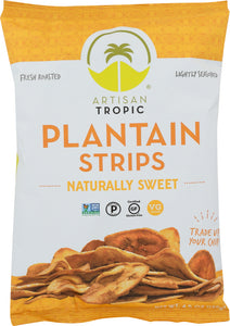 ARTISAN TROPIC: Plantain Strips Naturally Sweet, 4.5 oz - Vending Business Solutions