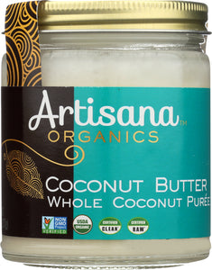ARTISANA: Organic Raw Coconut Butter, 8 oz - Vending Business Solutions