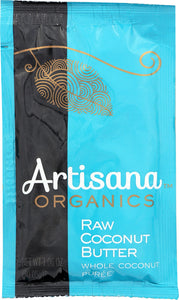 ARTISANA: Organic Coconut Butter Raw Squeeze Pack, 1.06 oz - Vending Business Solutions