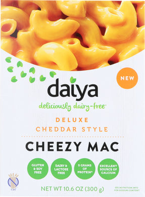 DAIYA: Cheddar Style Cheezy Mac Deluxe, 10.6 oz - Vending Business Solutions