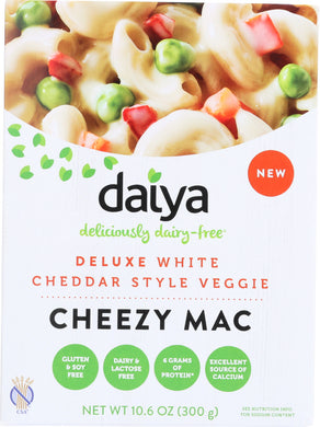 DAIYA: White Cheddar Style Veggie Cheezy Mac, 10.6 oz - Vending Business Solutions