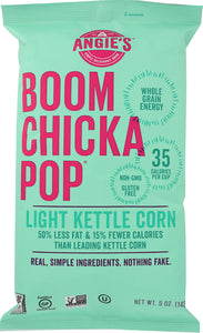 ANGIE'S: Boom Chicka Pop Lightly Sweet Popcorn, 5 oz - Vending Business Solutions