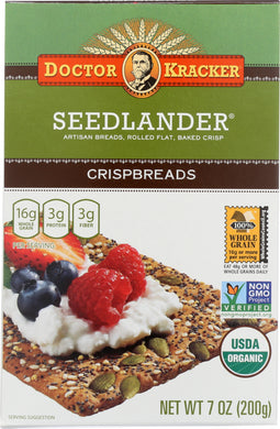 DR KRACKER: Crispbreads Seedlander, 7 oz - Vending Business Solutions