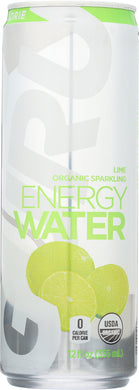 GURU: Water Sparkle Energy Lime Organic, 12 oz - Vending Business Solutions