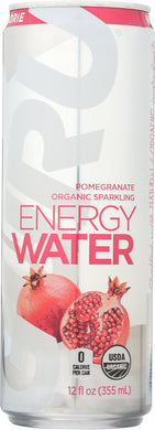 GURU: Water Sparkle Energy Pomegranate Organic, 12 oz - Vending Business Solutions