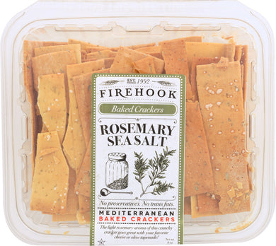 FIREHOOK: Rosemary Baked Cracker, 7 oz - Vending Business Solutions
