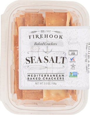FIREHOOK: Sea Salt Cracker Snack Box, 5.5 oz - Vending Business Solutions