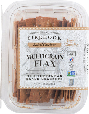 FIREHOOK: Multigrain Cracker Snack Box, 5.5 oz - Vending Business Solutions