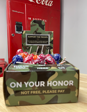 Load image into Gallery viewer, Military Charity Honor Box Home-Based Business - Vending Business Solutions