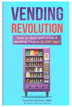 Load image into Gallery viewer, Vending Revolution - Paperback (How To Start A Vending Machine Business) - Vending Business Solutions
