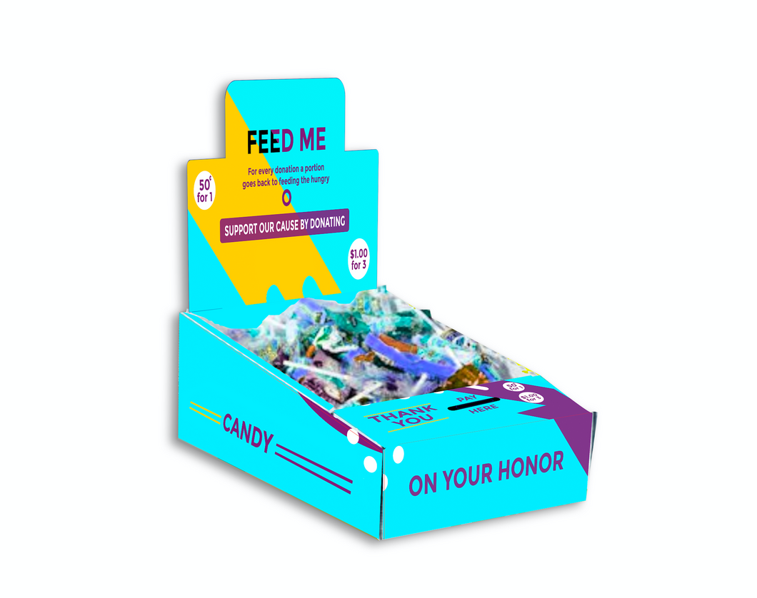 Charity Honor Box Displays - 5 Boxes Package