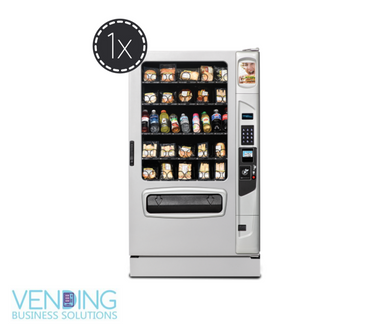 One (1) Full Line Soda or Snack Machine Location - Vending Business Solutions