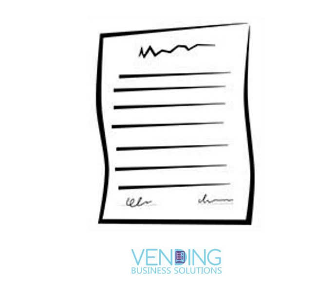 Vending Business Location Contract - Vending Business Solutions
