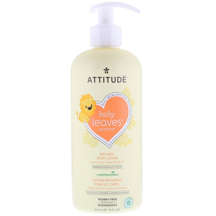 ATTITUDE: Baby Leaves Lotion Pear Nectar, 16 fo - Vending Business Solutions