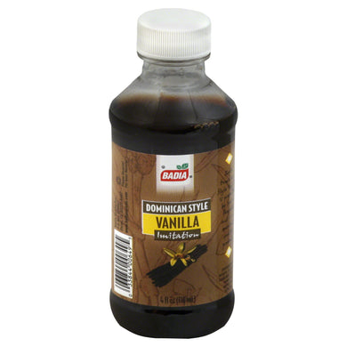 BADIA: Vanilla Extract Imitation, 4 oz - Vending Business Solutions