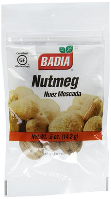 BADIA: Whole Nutmeg, 0.5 oz - Vending Business Solutions