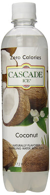 CASCADE ICE: Sparkling Water Coconut, 17.2 oz - Vending Business Solutions
