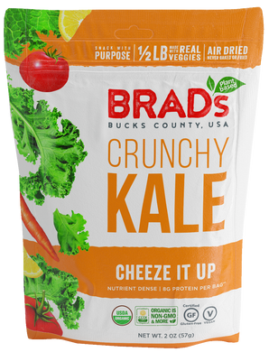 BRADS PLANT BASED: Crunchy Kale Cheeze It Up, 2 oz - Vending Business Solutions