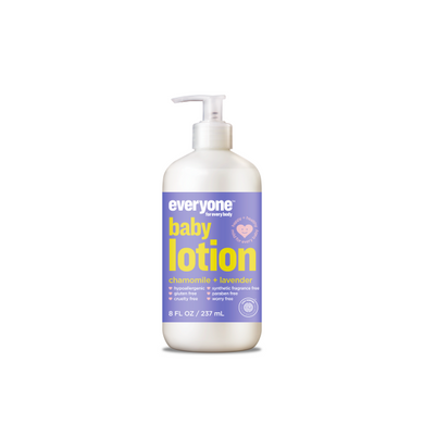 EVERYONE: Chamomile Lavender Baby Lotion, 8 fl oz - Vending Business Solutions