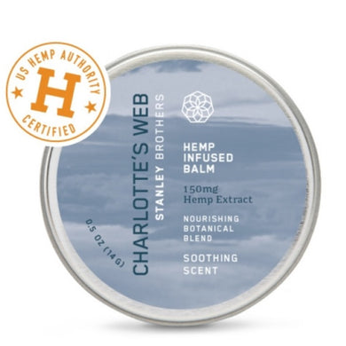 CHARLOTTES WEB: Hemp Infused Balm Soothing Scent, 0.5 oz - Vending Business Solutions