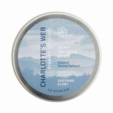CHARLOTTES WEB: Hemp Infused Balm, 1.5 oz - Vending Business Solutions