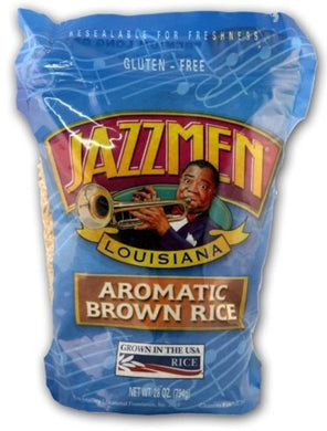 JAZZMEN: Aromatic Rice Brown, 28 oz - Vending Business Solutions