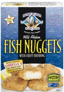 HENRY & LISAS: Alaskan Wild Fish Nugget, 12 oz - Vending Business Solutions