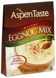 ASPEN TASTE: Instant Eggnog Mix, 3.75 oz - Vending Business Solutions