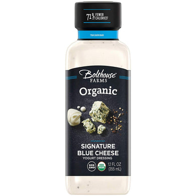 BOLTHOUSE FARMS: Organic Signature Blue Cheese Yogurt Dressing, 12 oz - Vending Business Solutions