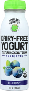 HARMLESS HARVEST: Dairy-Free Yogurt Drink Blueberry, 8 oz - Vending Business Solutions