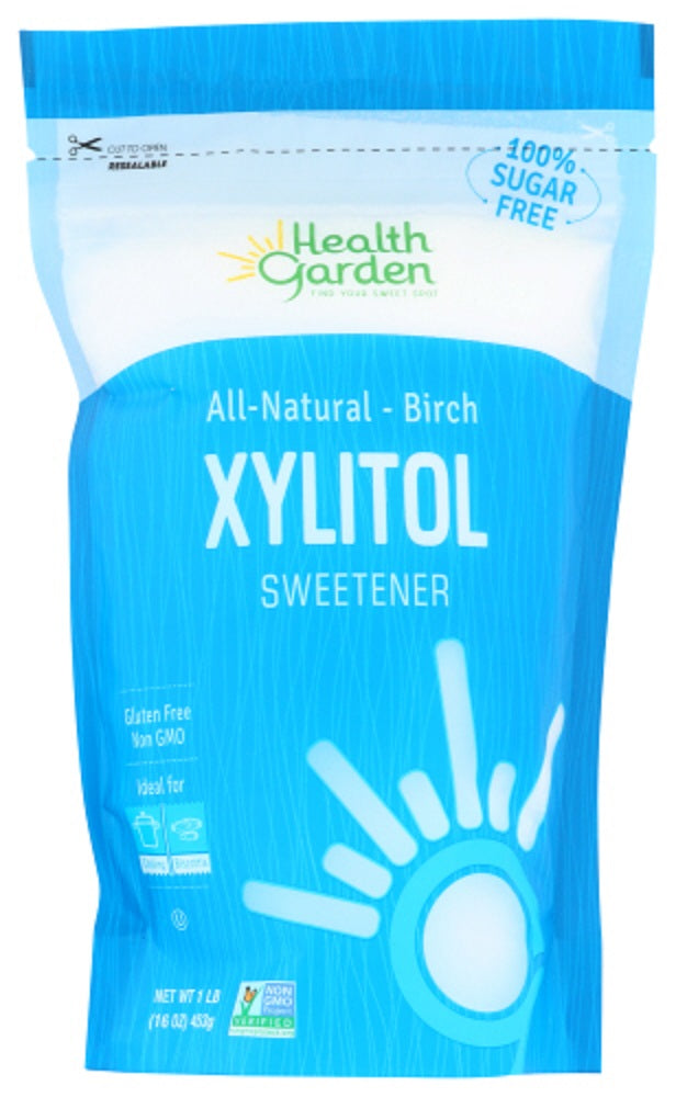 HEALTH GARDEN: All Natural Birch Xylitol Sweetener, 1 lb - Vending Business Solutions