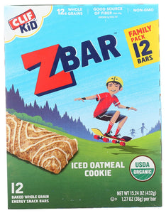 CLIF KID: ZBar Iced Oatmeal Cookie Family Pack, 15.24 oz - Vending Business Solutions