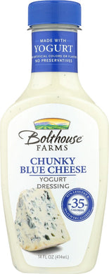 BOLTHOUSE: Chunky Blue Cheese Yogurt Dressing, 14 oz - Vending Business Solutions