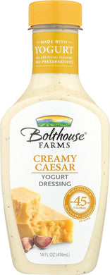 BOLTHOUSE: Creamy Caesar Yogurt Dressing, 14 oz - Vending Business Solutions