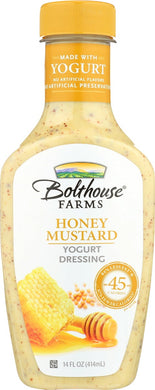 BOLTHOUSE: Honey Mustard Yogurt Dressing, 14 oz - Vending Business Solutions