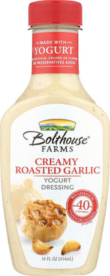 BOLTHOUSE: Creamy Roasted Garlic Yogurt Dressing, 14 oz - Vending Business Solutions