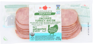 APPLEGATE: Organic Uncured Turkey Bacon, 8 oz - Vending Business Solutions