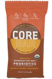 CORE FOODS: Peanut Butter Chocolate Bar, 2 oz - Vending Business Solutions
