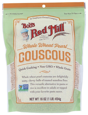 BOB'S RED MILL: Whole Wheat Pearl Couscous, 16 oz - Vending Business Solutions