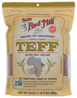 BOB'S RED MILL: Whole Grain Teff, 24 oz - Vending Business Solutions