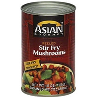ASIAN GOURMET: Mushrooms Peeled Stir Fry, 15 oz - Vending Business Solutions