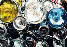 Lights for motorcycles