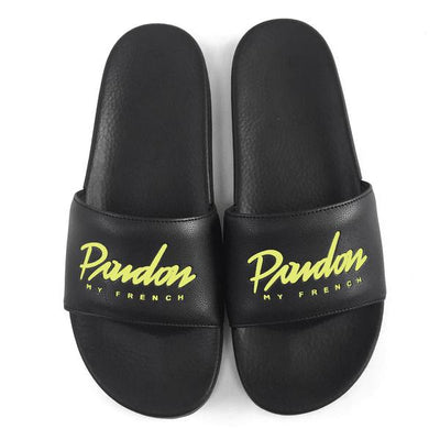 SANDALS PMF - SCRIPT EDITION LEMON PRINT